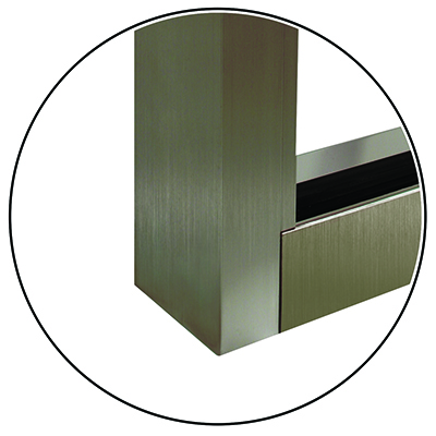 Light Bronze Anodized Aluminum